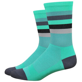 "DeFeet Aireator 6"" Socks Maverick (Celeste/Graphite)"